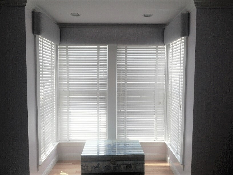 Custom Wood Blinds Installation Boston