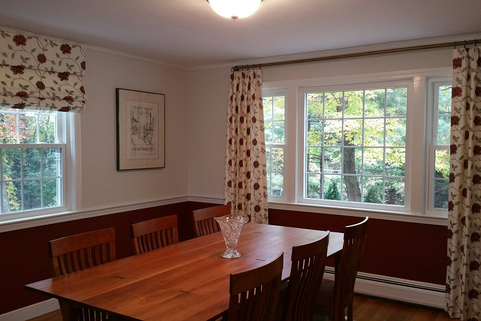 Custom Window Treatments Drapery Installers Boston Area